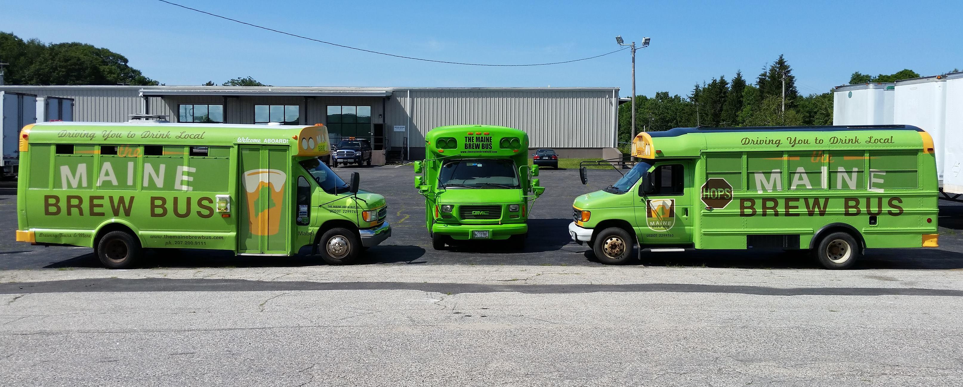 Maine Brew Bus Tour