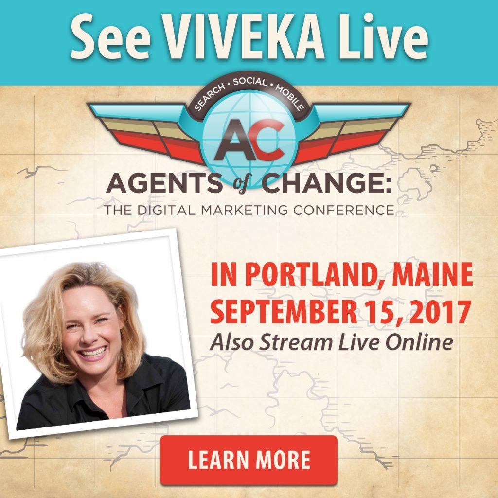 Viveka von Rosen at Agents of Change about Linkedin